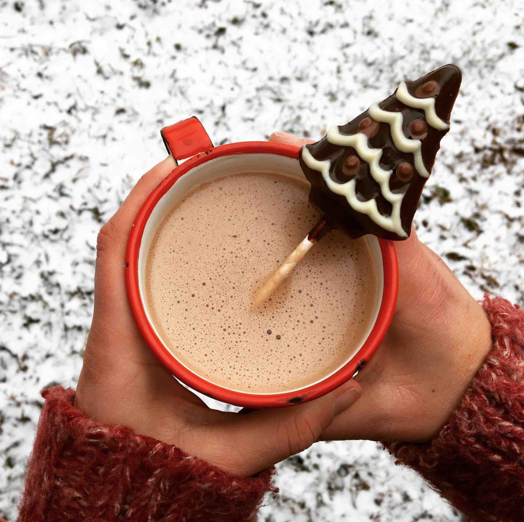 Chocolat chaud hot chocolate